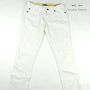 A/X ARMANI EXCHANGE Womans Jeans White
